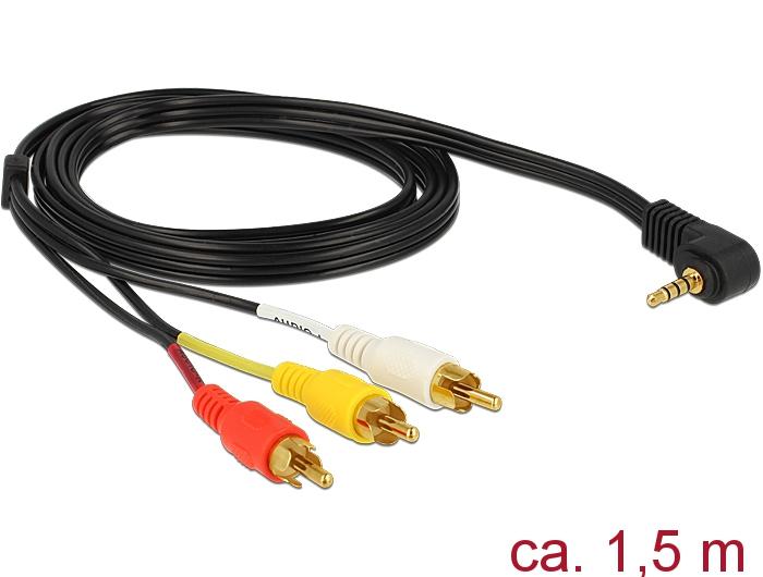 MV450i MV500 AV TV Kabel Stereo Video Kabel für Canon MV450